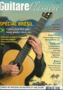 "The ""Tarentelle"" reviewed in ""Guitare Classique"" magazine No. 77"